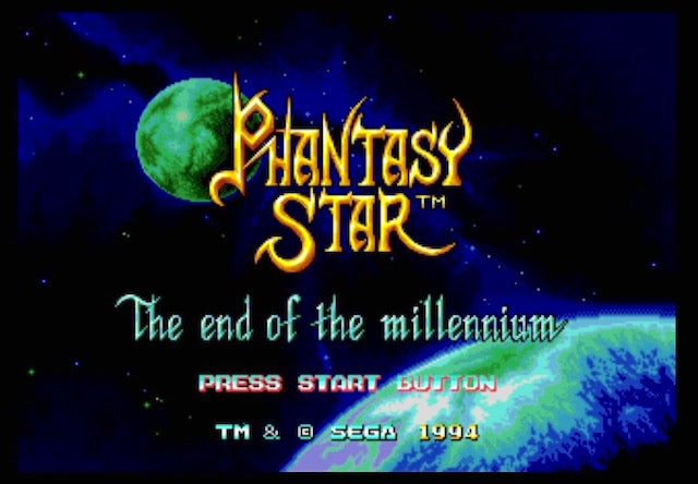 Sega Genesis Mega Drive Flashback HD Phantasy Star
