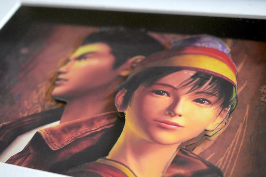 Shenmue Art close up