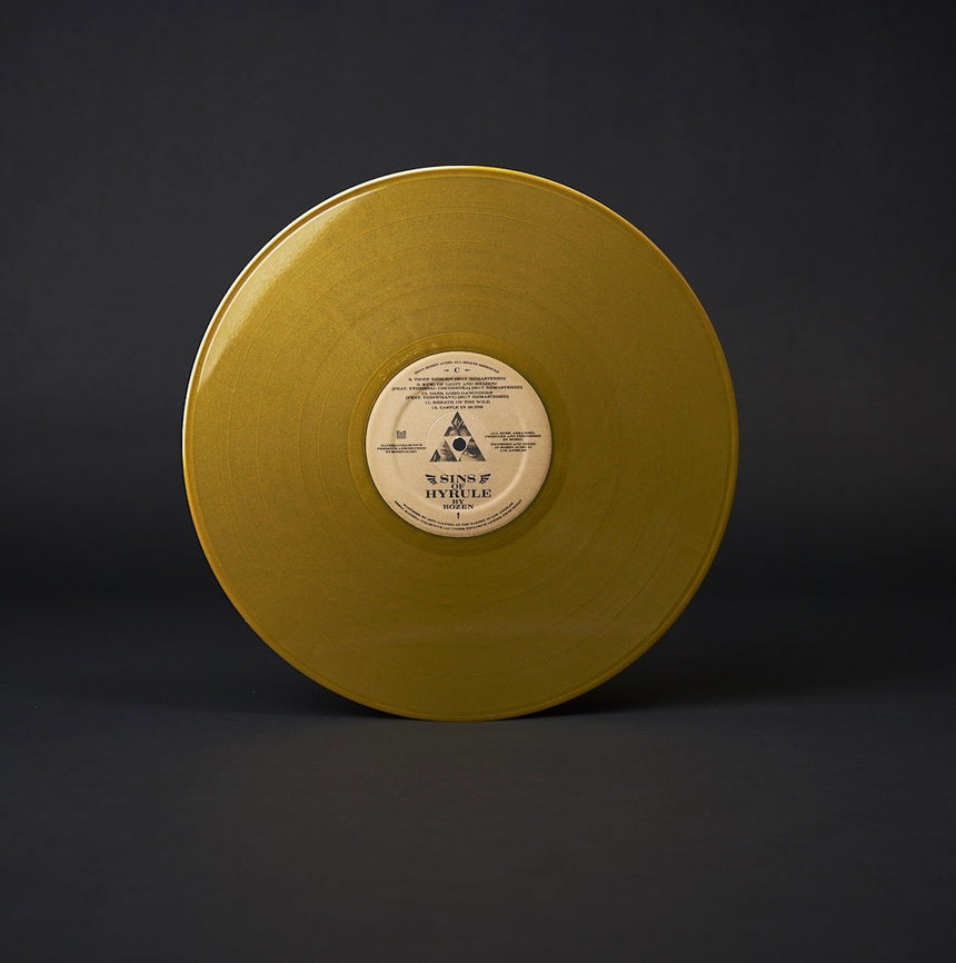 Sins of Hyrule gold vinyl 2