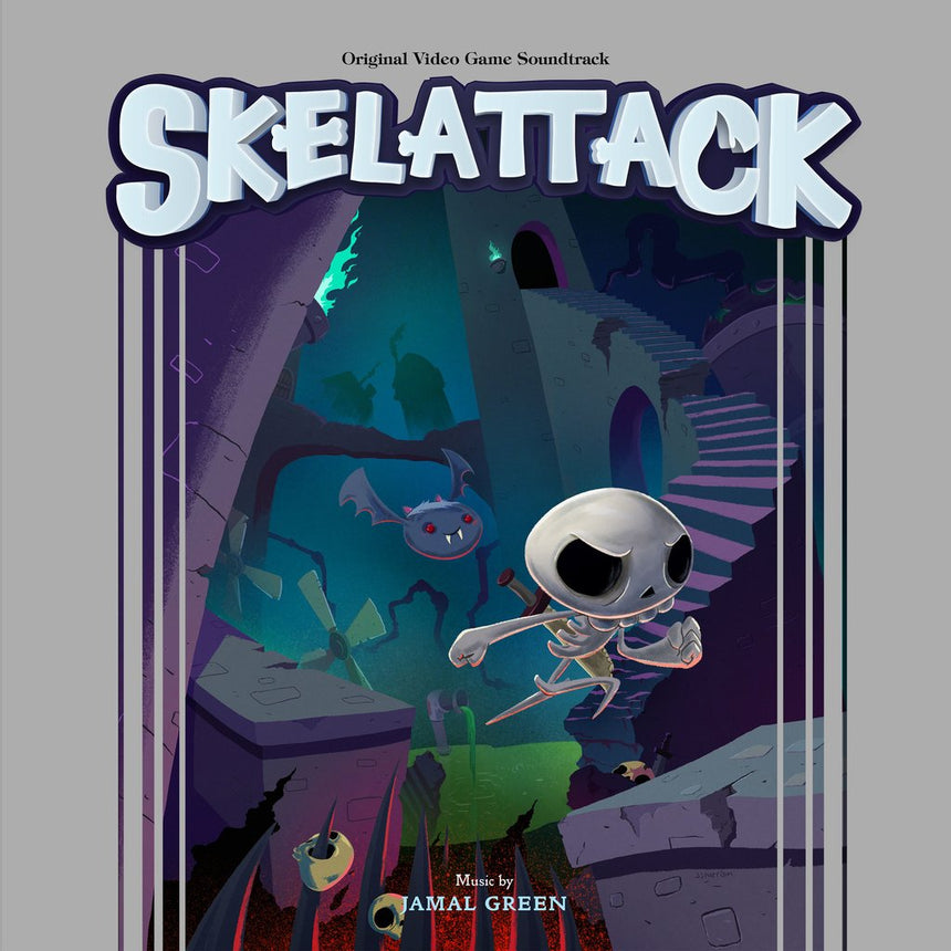 Skelattack - Original Video Game Soundtrack 2xLP