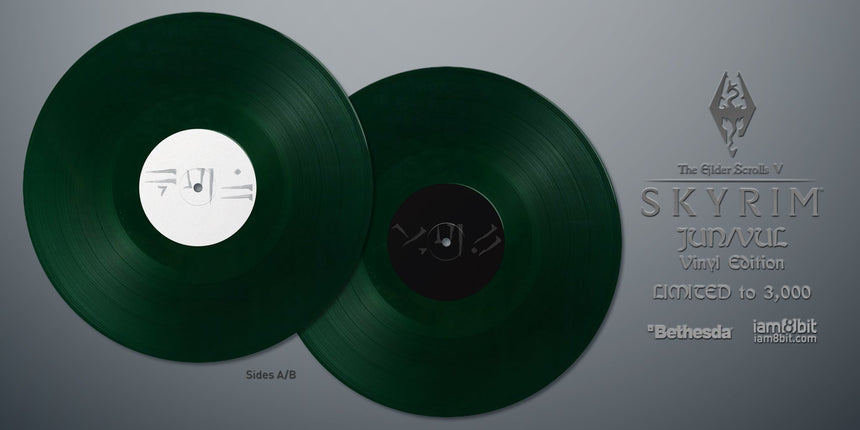 Elder Scrolls V: Skyrim Vinyl Soundtrack Emerald Green vinyl