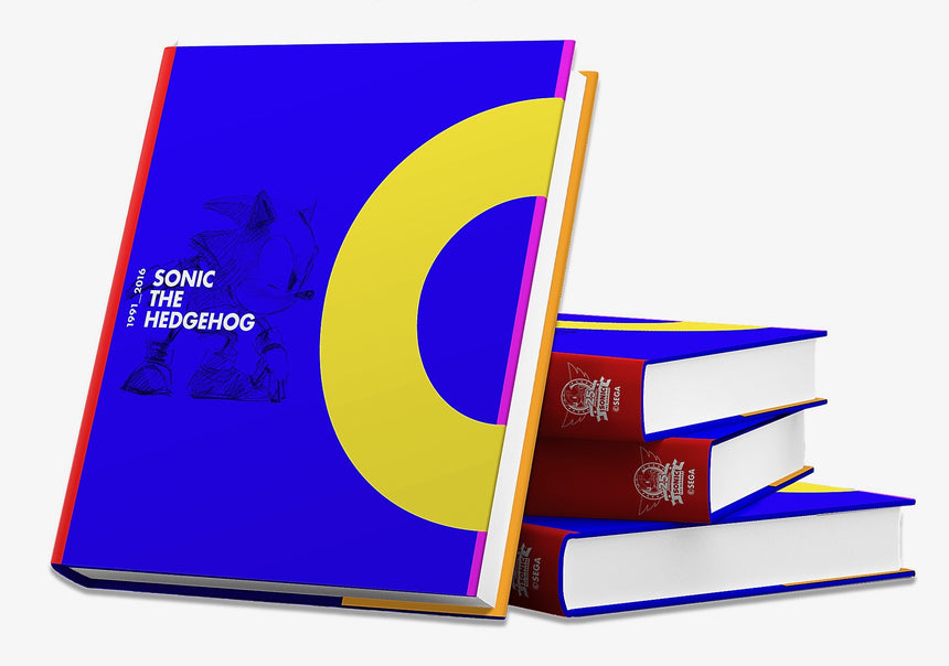 Sonic-book-standing