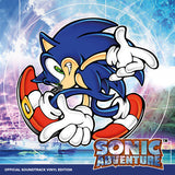 Sonic Adventure Official Soundtrack Vinyl Record Front Cover