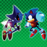 Sonic CD 3xLP (Vinyl Soundtrack) artwork