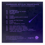 Starbound LP Vinyl Back Cover