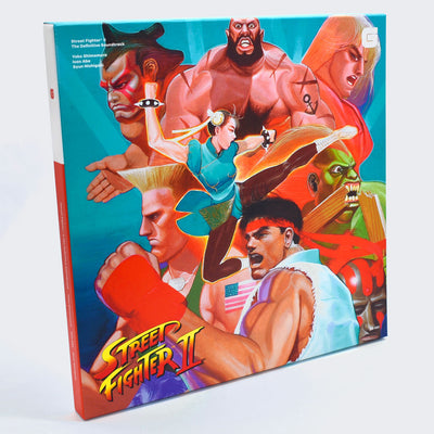 Street fighter 2 soundtrack front cover