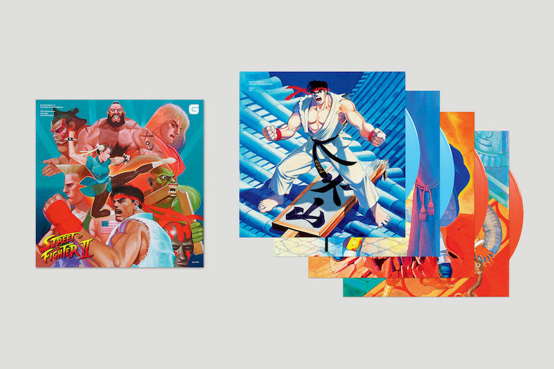 Street Fighter 2 Definitive Soundtrack Box Set
