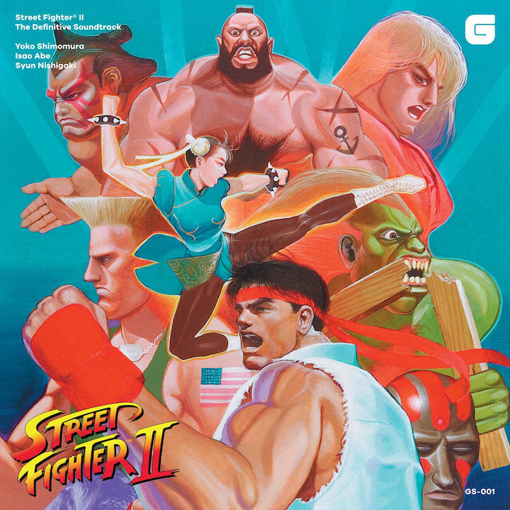 Street Fighter II The Definitive Soundtrack CD