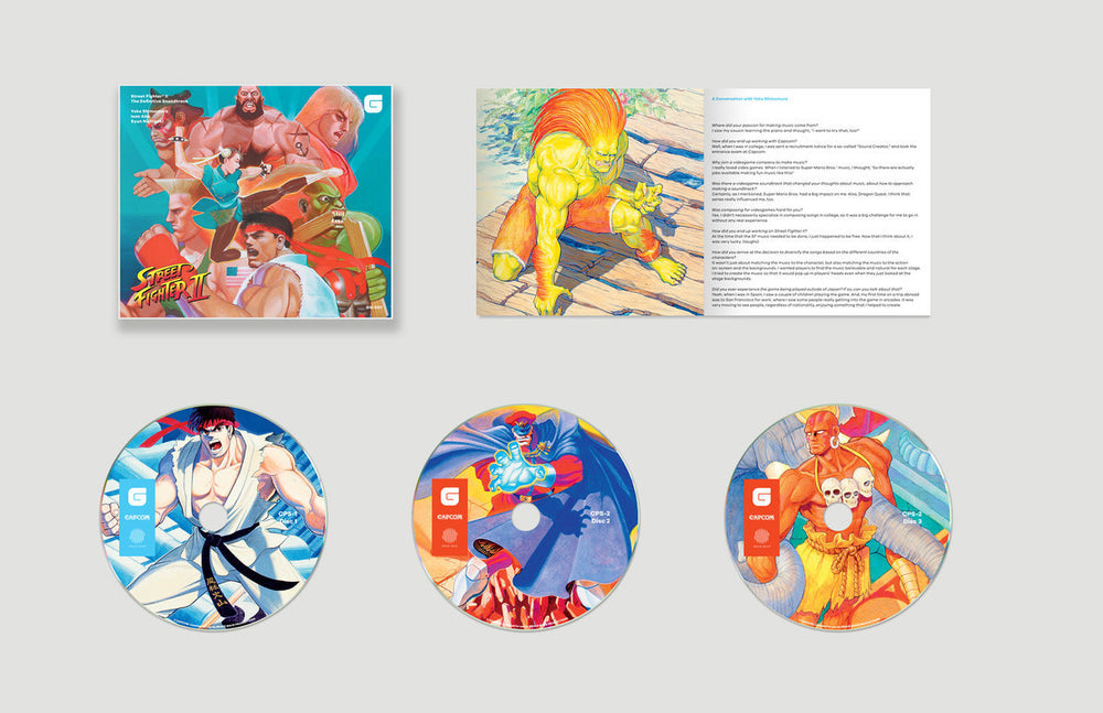 Street Fighter II The Definitive Soundtrack CD box set