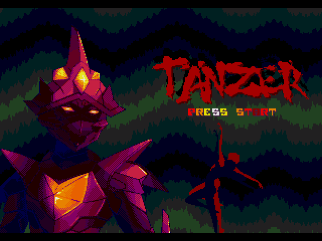 Tänzer - SEGA Mega Drive video game