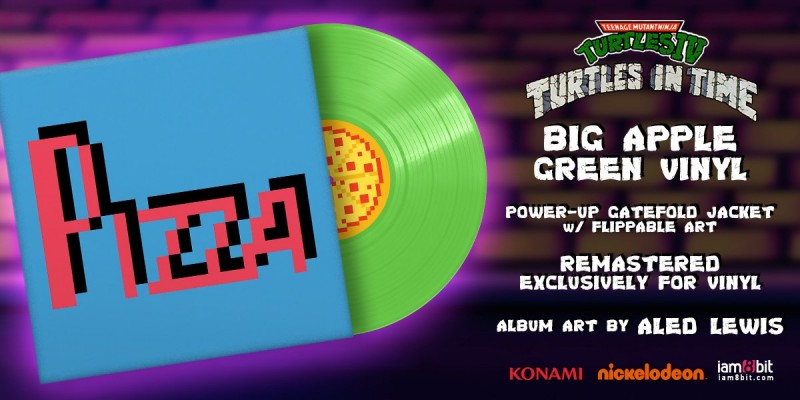Teenage Mutant Ninja Turtles: Turtles in Time Vinyl Soundtrack