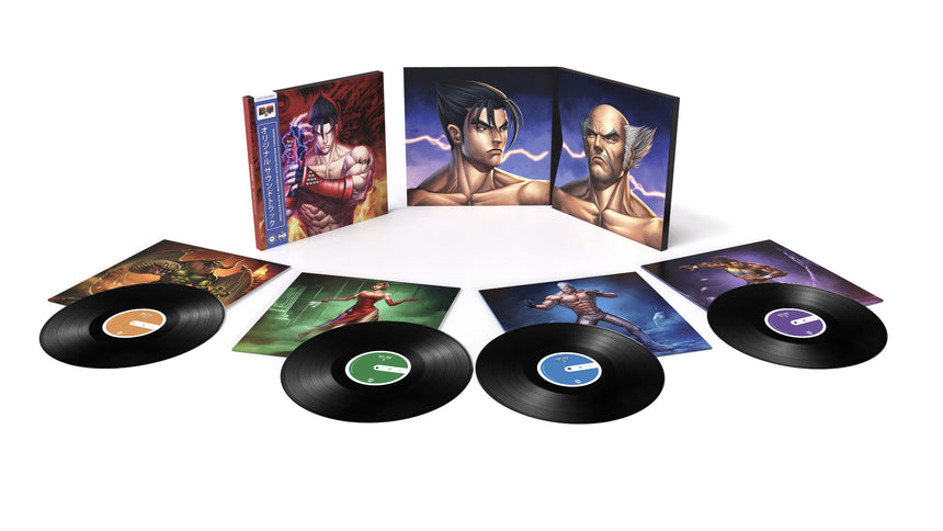 Tekken 3 Vinyl Record 4xLP Box Set