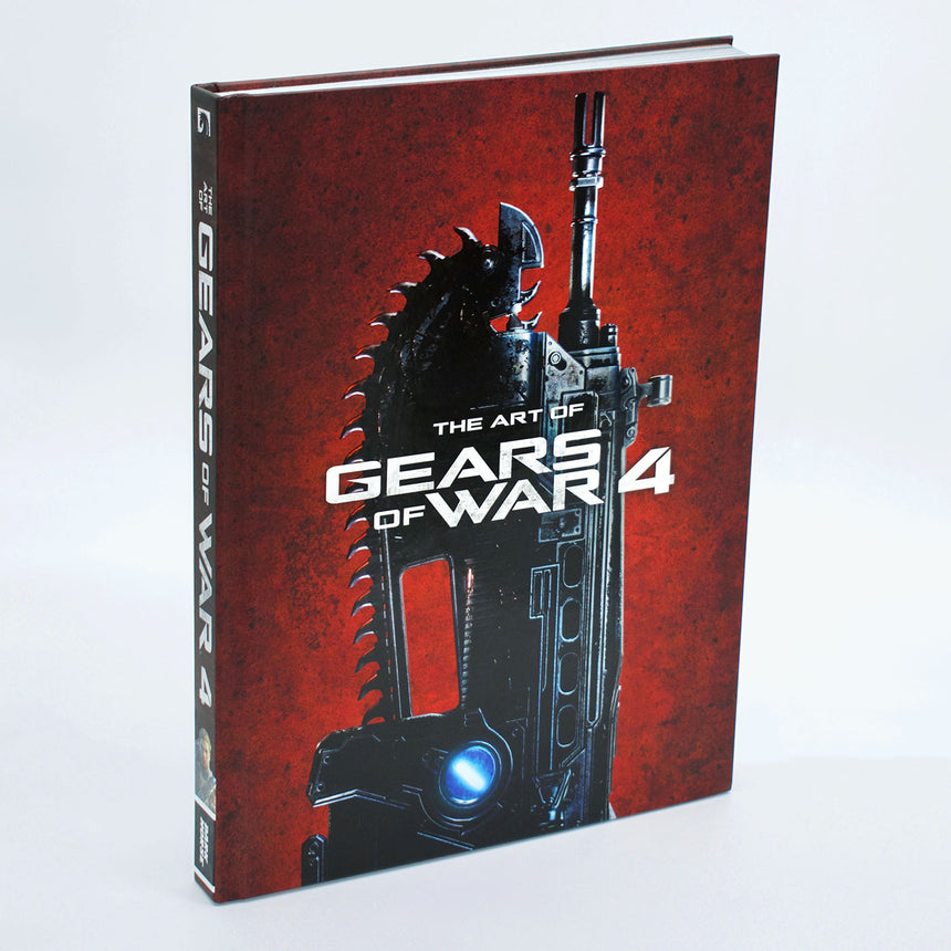 Gears of war 4 book front cover