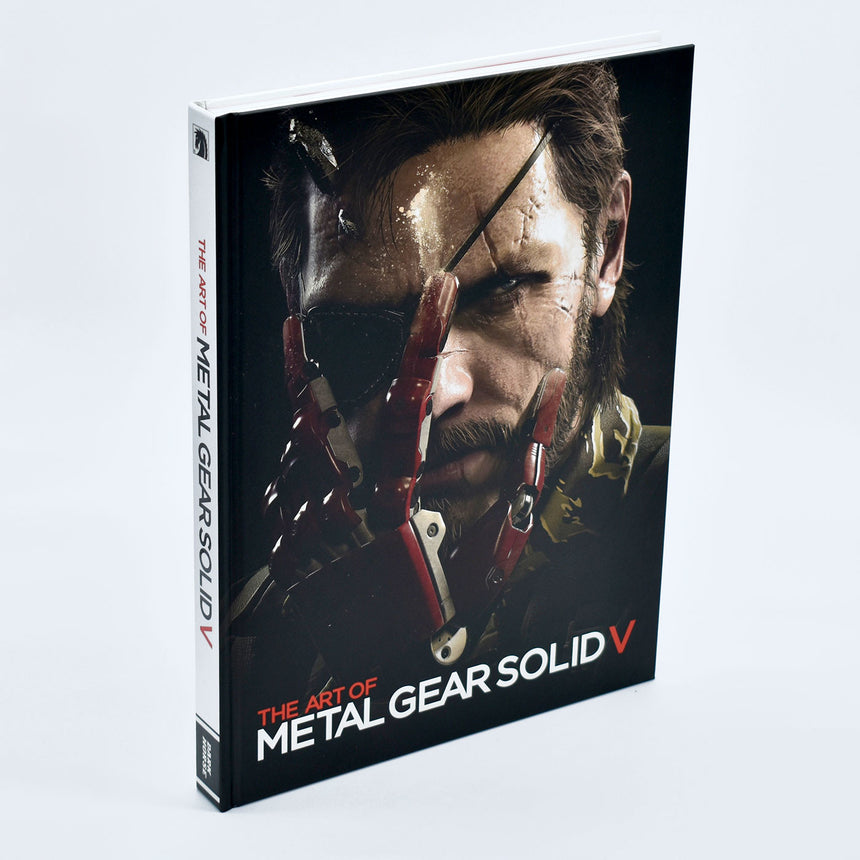 Metal gear solid 5 book front cover