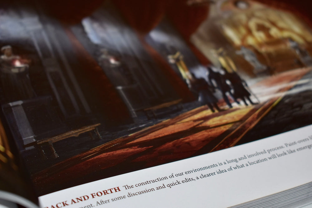 Dragon Age environment construction