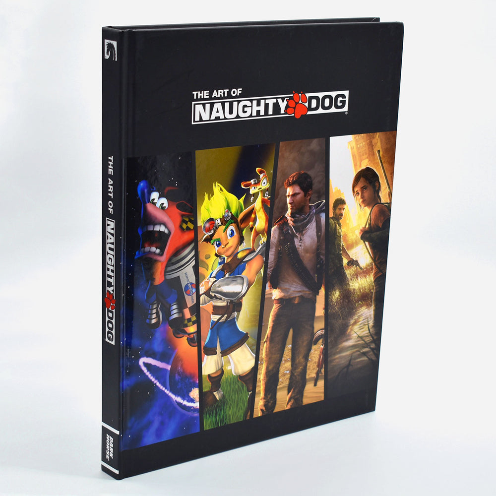 Naughty Dog Book front cover