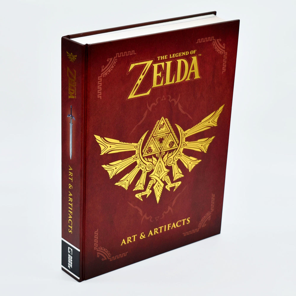 Zelda Art and artifacts front cover
