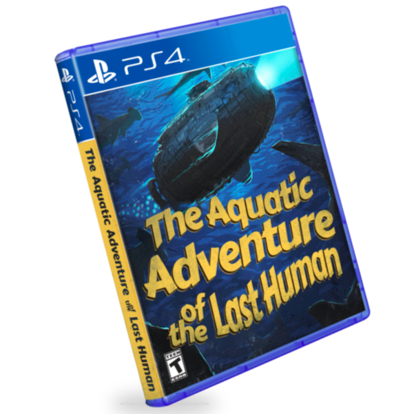 The Aquatic Adventure of the Last Human PS4 Physical Game