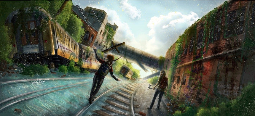 The Last of Us A3 Art Print