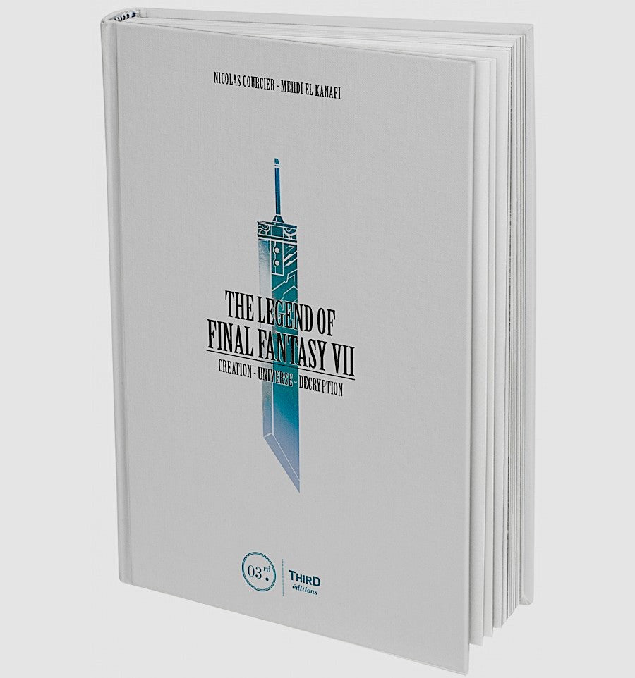 The Legend of Final Fantasy VII Hardcover Book