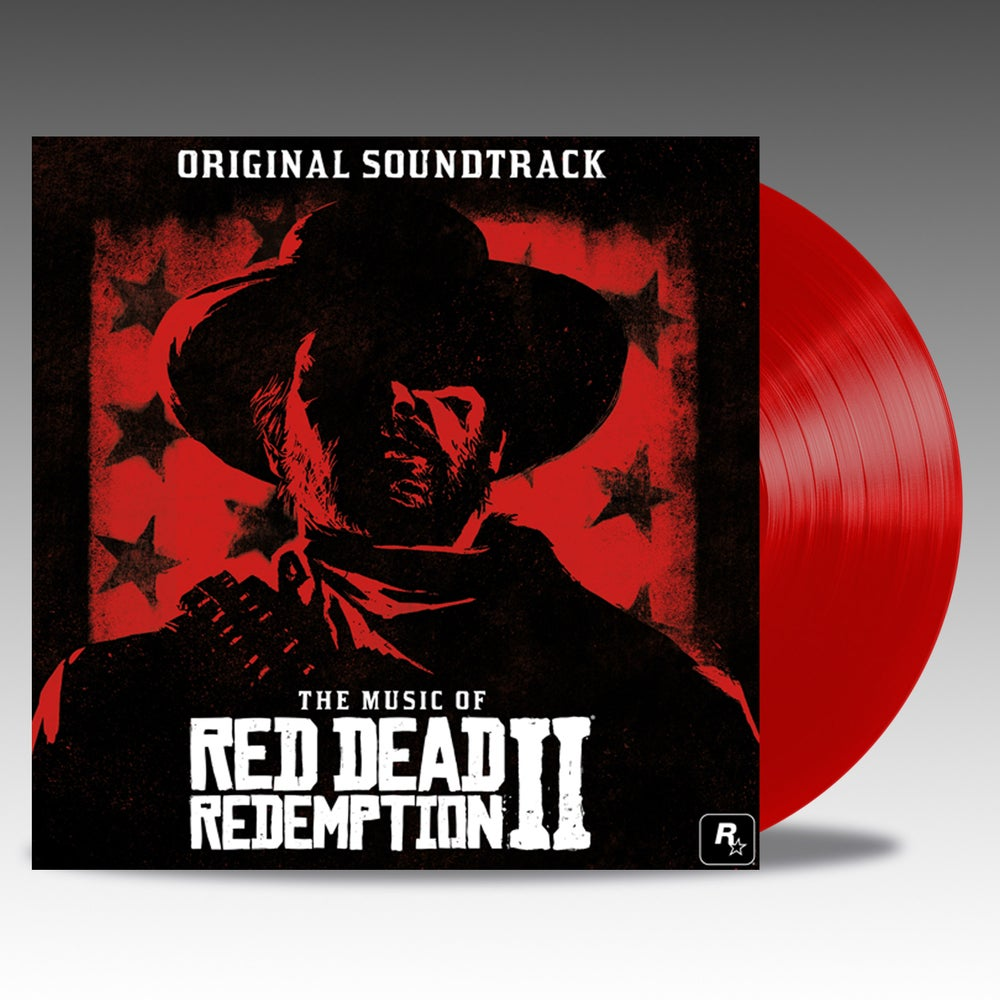 The Music Of Red Dead Redemption 2 Soundtrack red coloured vinyl