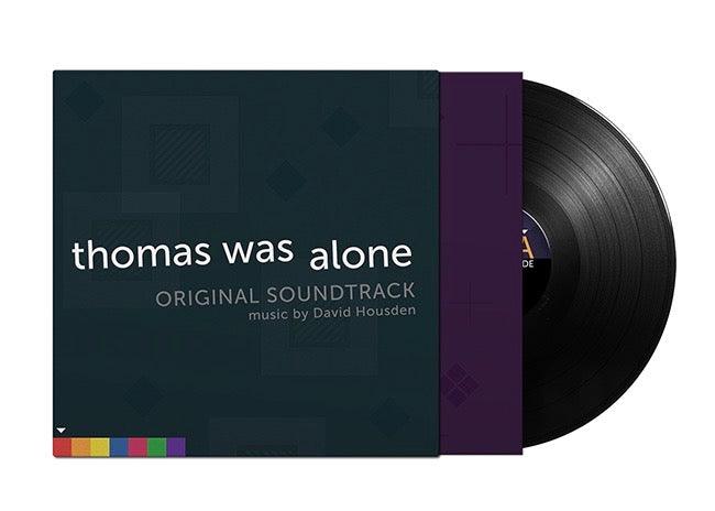 Thomas Was Alone Vinyl Record Soundtrack black vinyl