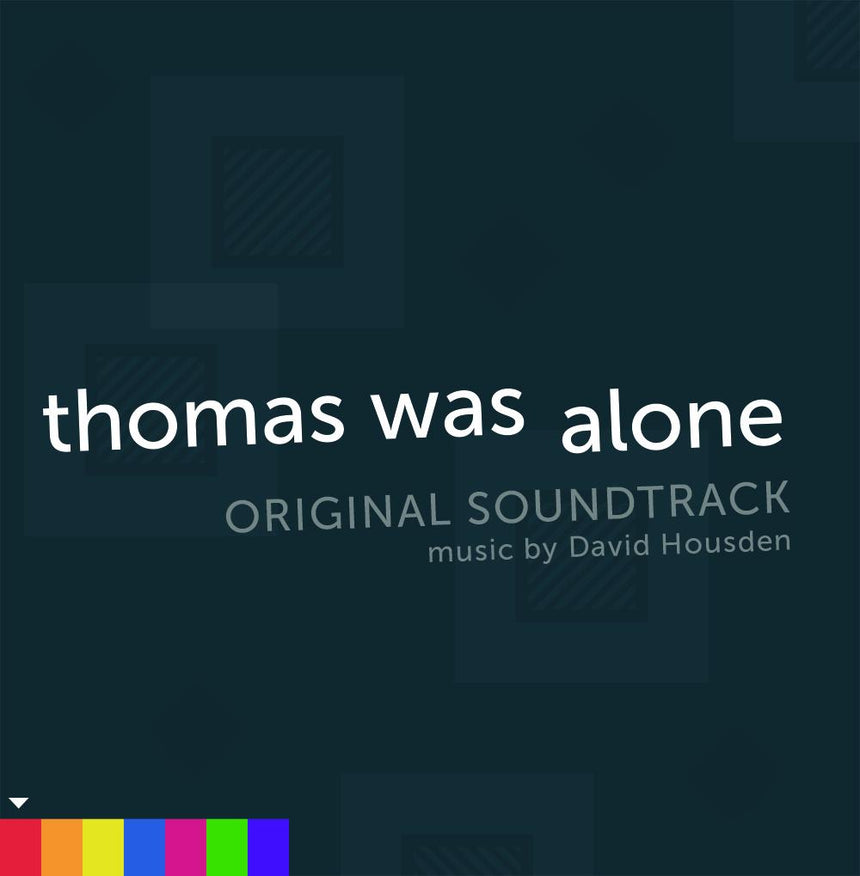 Thomas Was Alone Vinyl Record Soundtrack front cover