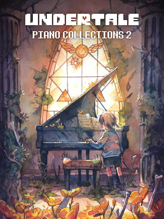 UNDERTALE Piano Collections 2 Sheet Music Book