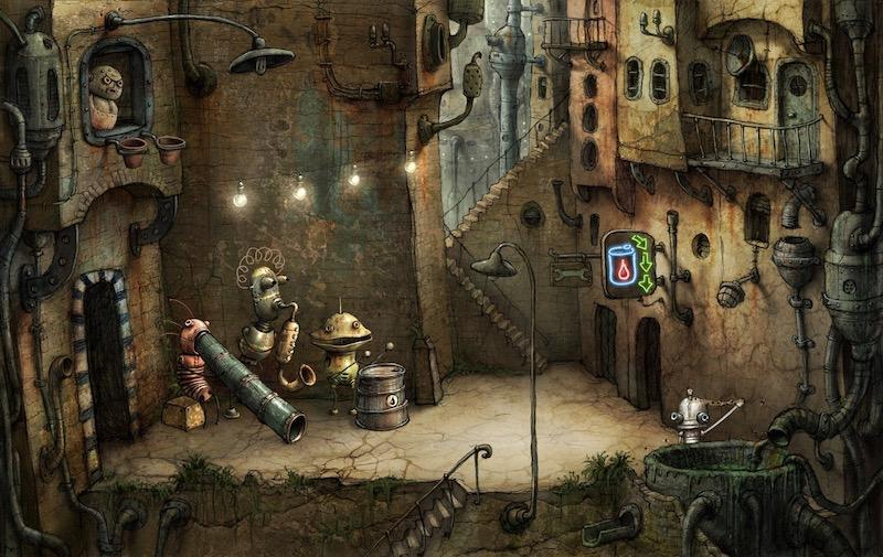 Ulicka (Machinarium) by Amanita Design