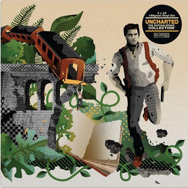 Uncharted: The Nathan Drake Collection Vinyl Soundtrack 3xLP