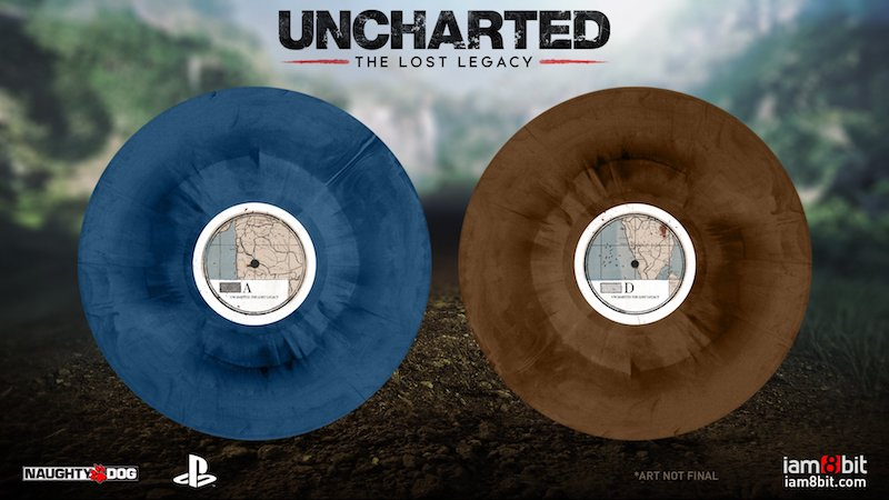 Uncharted Lost Legacy Coloured Vinyls