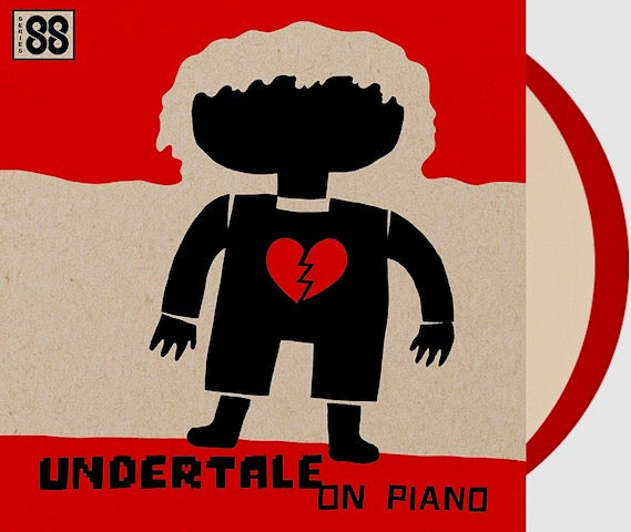 Undertale on Piano Vinyl Record LP Cover