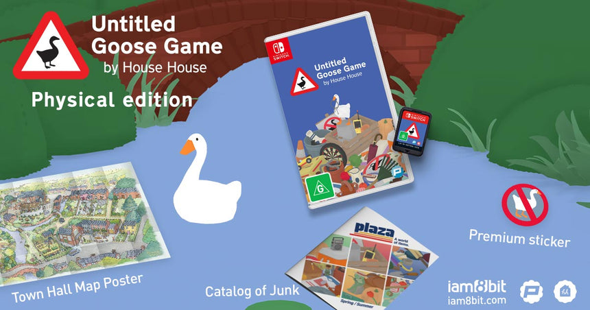 Untitled Goose Game Nintendo Switch Physical Edition