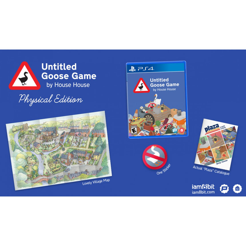 Untitled Goose Game PS4 Physical Edition