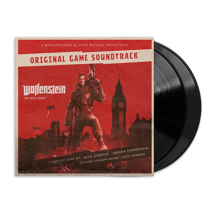 WOLFENSTEIN THE NEW ORDER/THE OLD BLOOD (DELUXE DOUBLE VINYL)