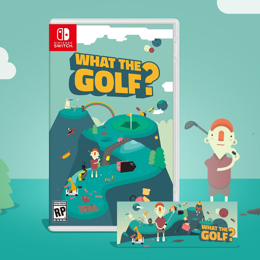 What the Golf? (Nintendo Switch Physical Edition)