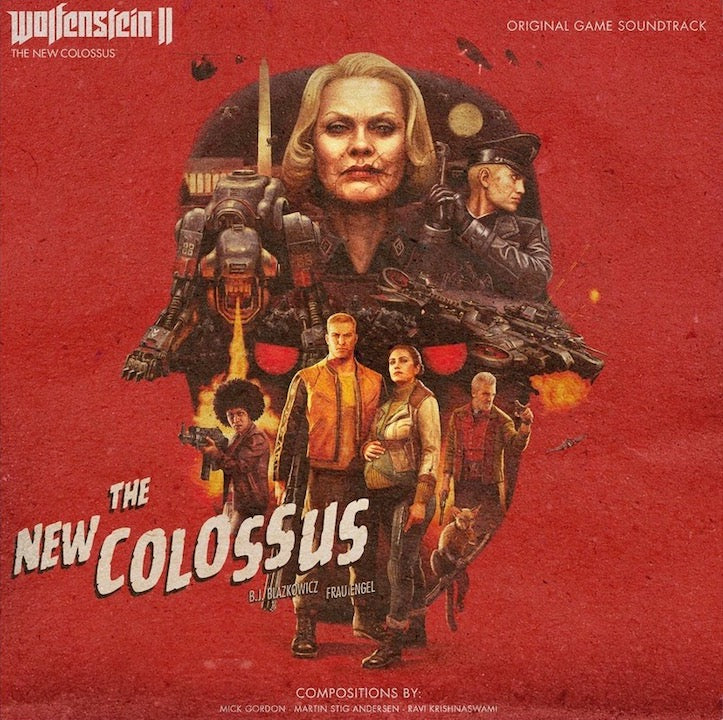 Wolfenstein II: The New Colossus (Deluxe Triple Vinyl)