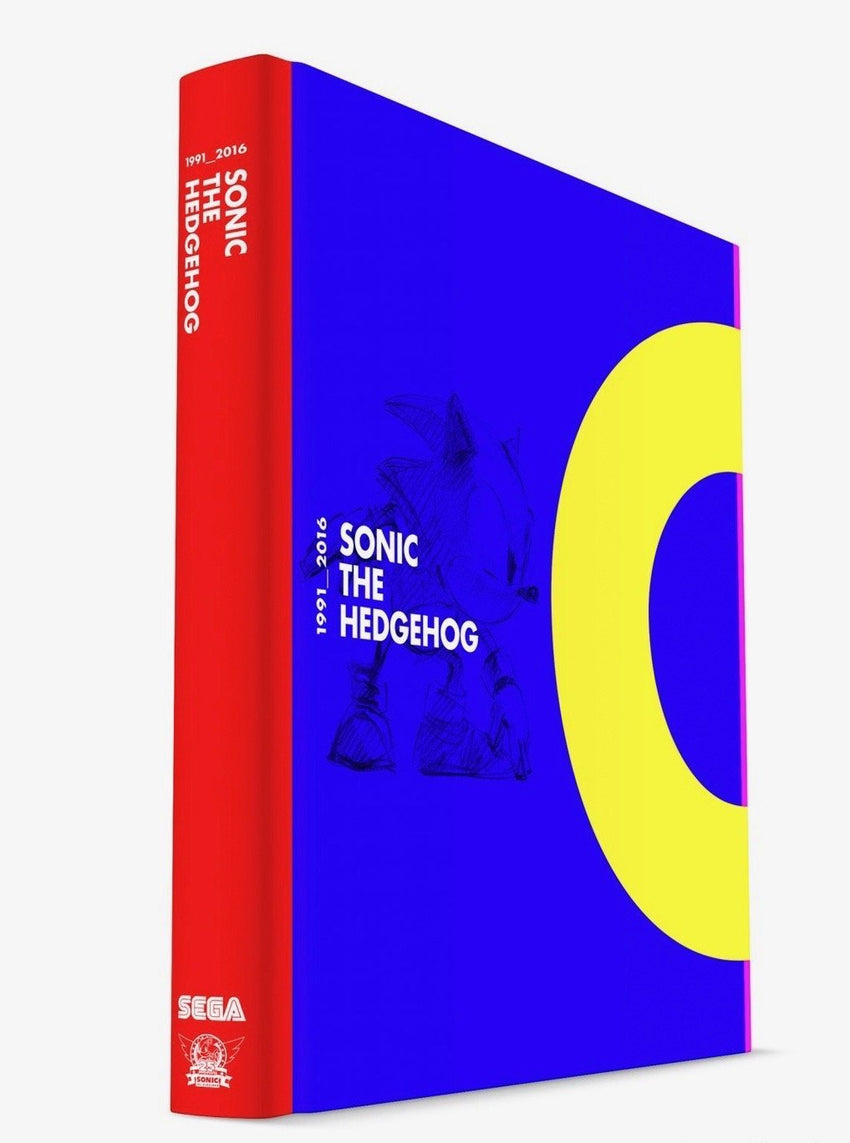 Sonic the Hedgehog 25th Anniversary Actual Book