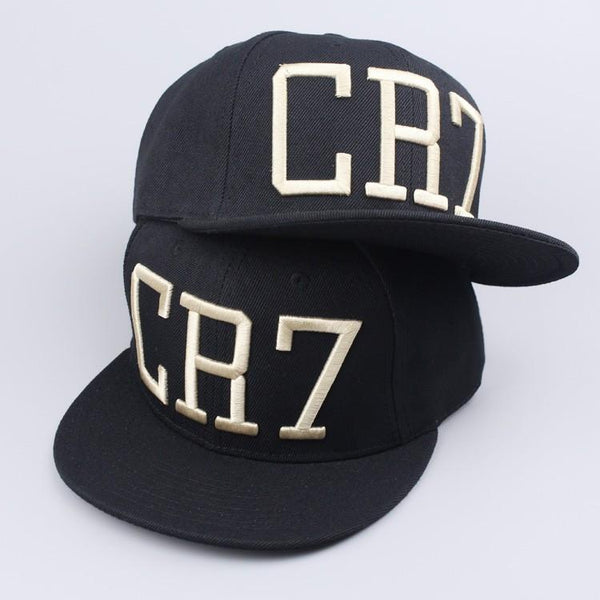 CR7 Black Blue Baseball Caps
