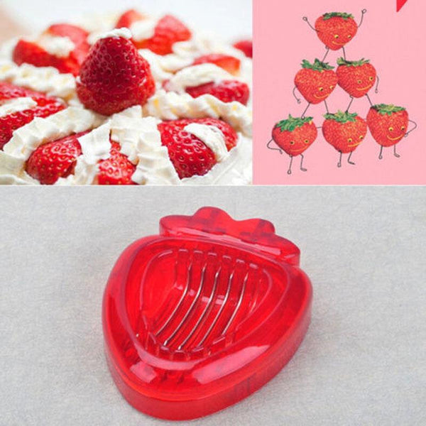 Strawberry Slicer Kitchen Gadget