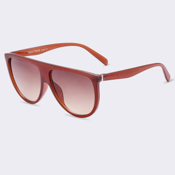 Classic Flat Top Sunglasses - UV400