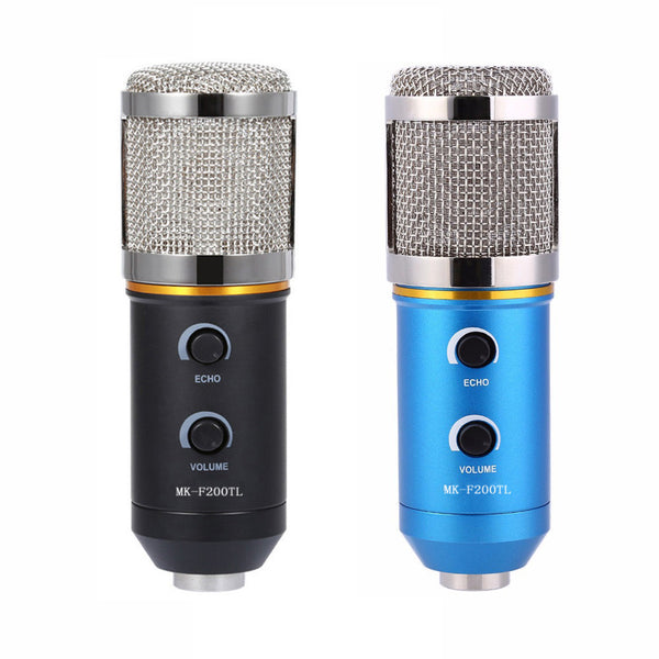 Adjustable Volume Noise Reduction Condenser Microphone