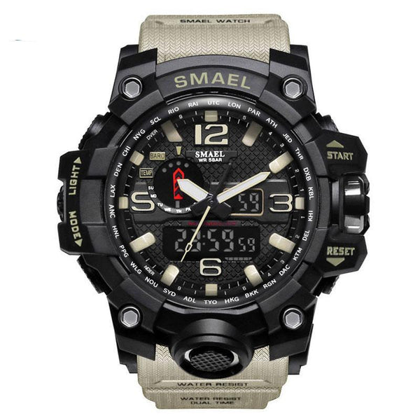 Men's Military Watch 50m Waterproof Wristwatch