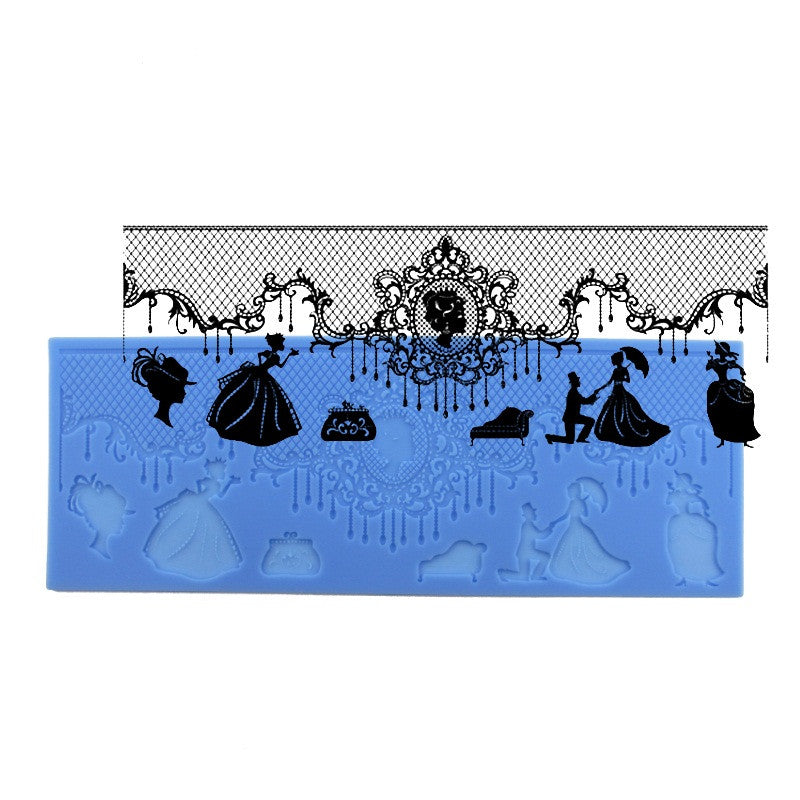 Victorian Cameo Lace Mat