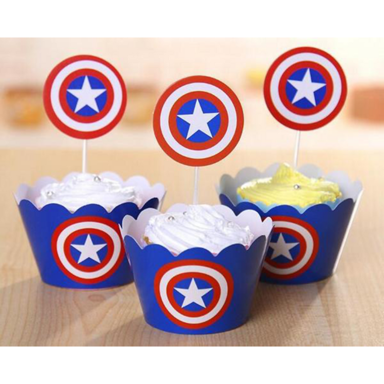 Captain America Toppers