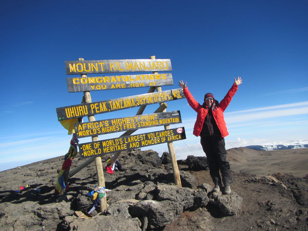 Wotnot Made it to the Summit of Mt. Kilimanjaro for Charity!