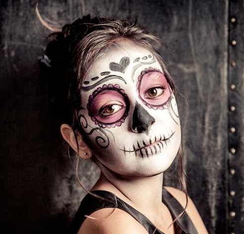 Halloween Facepainting Inspiration with No Nasties Natural Facepaints
