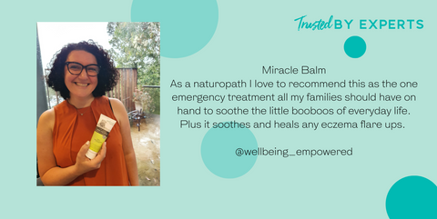 Trusted by Experts - Naturopath recommends Wotnot Nappy Rash Cream to be the perfect Miracle balm to soothe all skin booboos in every day life