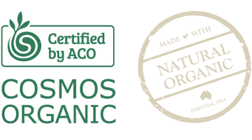 Certified by ACO. Natural Organic.