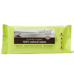 Biodegradable Natural Travel Wipes - Soft Pack (20 sheets)